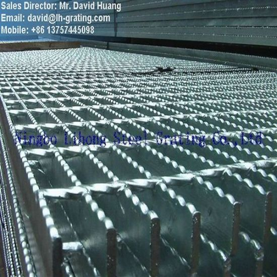 Hot DIP Galvanized Bar Grating for Industry Platform and Trench Cover pictures & photos
