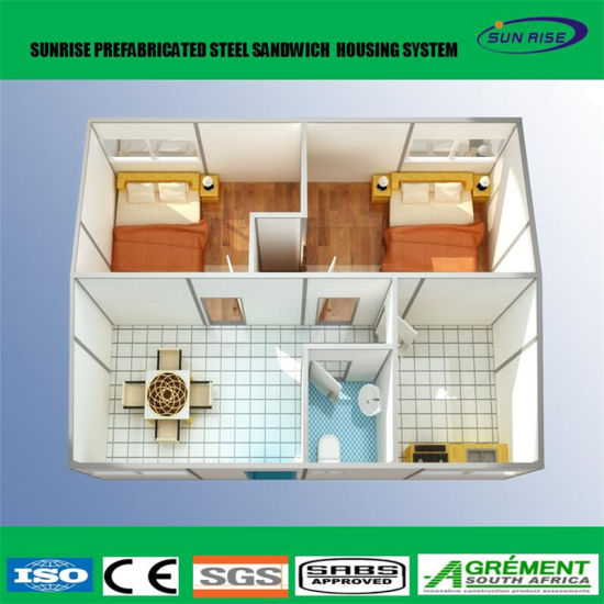 Marvelous Low Cost Construction Site Prefab Expandable Container House Prefabricated  Villa