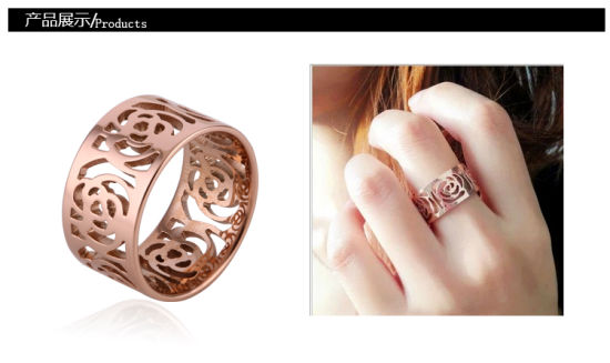 Women Fashion Stainless Steel Jewelry Ring (hdx1024) pictures & photos