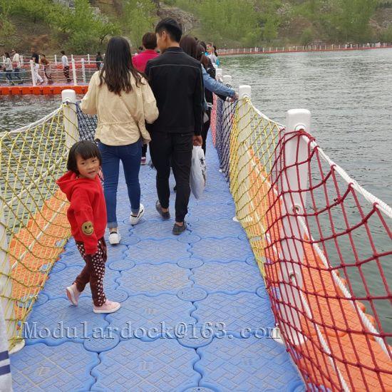 Plastic Modular Floating Pontoon Bridge