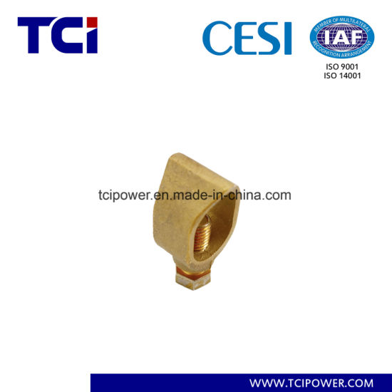 Brass Acorn Shaped Earth Rod Clamp/Rod Grounding Earthing Clamp/Ground Rod Clamp pictures & photos