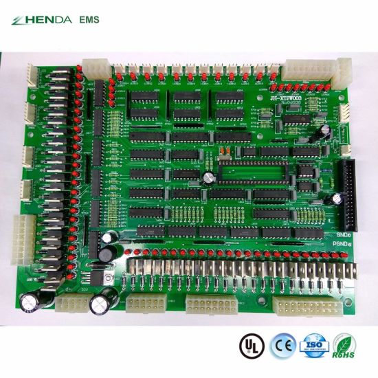 RoHS Customized GPS Tracking System PCB Board Assembly PCBA Manufacturer pictures & photos