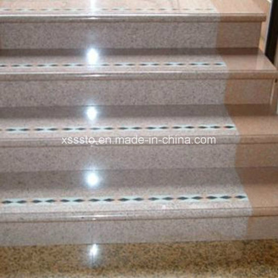 Indoor Polished Granite Steps with Non-Slip