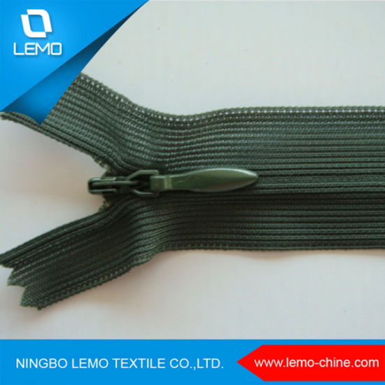 Invisible Nylon Zipper with High Quality pictures & photos