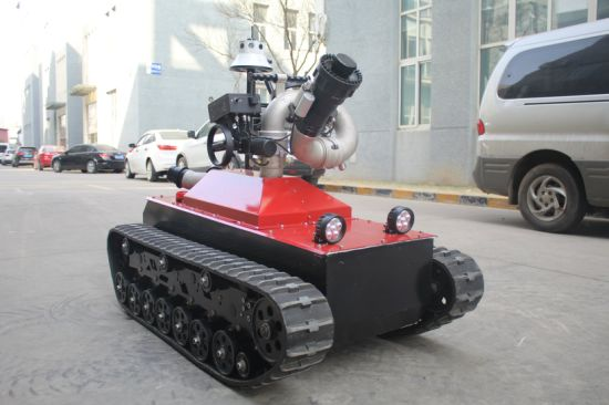 High Efficiency Fire Fighting Robot