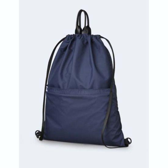 China Nylon Waterproof Fibric Drawstring Backpack - China Drawstring ... 632e06de1d925