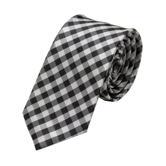 2016 Men Fashion Plaid Design Polyester Ties (WH24) pictures & photos