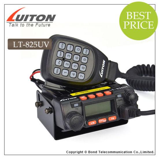 China Mini Mobile Radio Lt-825UV VHF/ UHF Transceiver