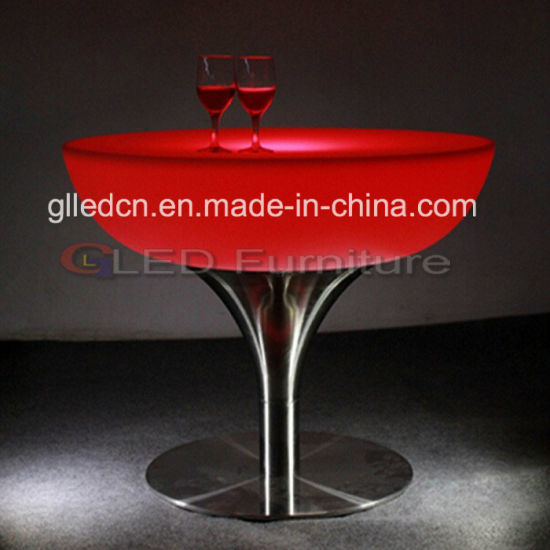 Plastic Bar Table Good for Hookah Bar Furniture