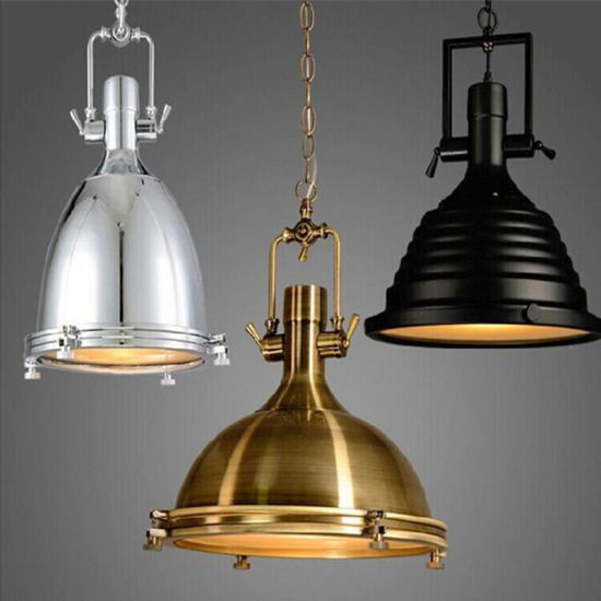 European Vintage Antique Brass Iron Pendant Lamp for restaurant pictures & photos