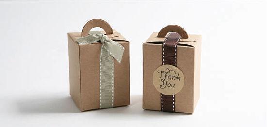 Tall Small Kraft Gable Boxes Favor Box Kraft Boxes Gift Boxes Wedding Favor Box Bridal Shower Favor Baby Shower Favor Cute Box Shot Glass Box