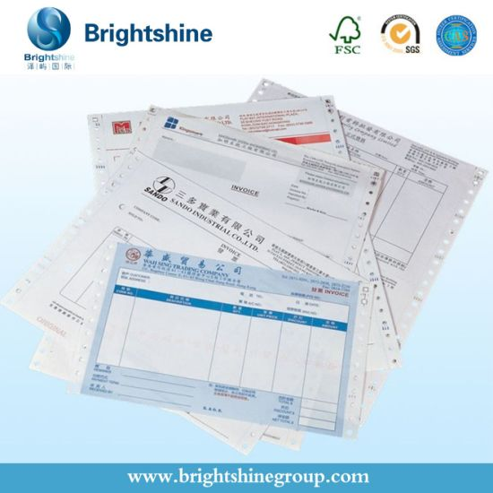 3ply CB CFB CF NCR Paper for Computer Paper