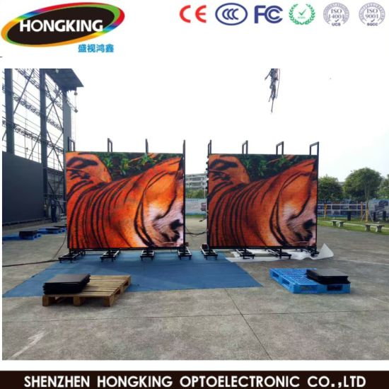 P10 LED Display Screen with National LED Lamp pictures & photos