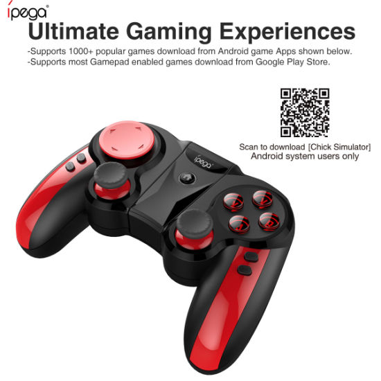 Ipega Pg-9089 Bluetooth Wireless Game Controller Gamepad Joystick pictures & photos