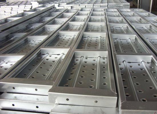 High Quality Construction Deck Catwalk Board Used Sale Scaffolding Decking  Walk Steel Walking Metal Scaffold Plank
