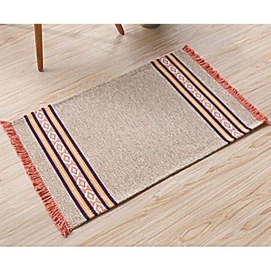Manufacturer New Area Rug Cotton/Polyester/Viscose Rug
