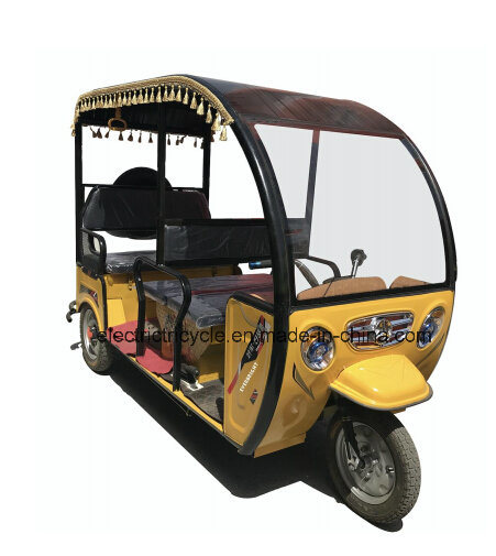 Wholesale 60V 1000W Passenger Electric Tricycle for 6 People