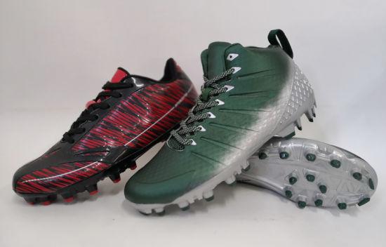 Customized American Football Soccer Boots Indoor Turf Futsal Sport Shoes