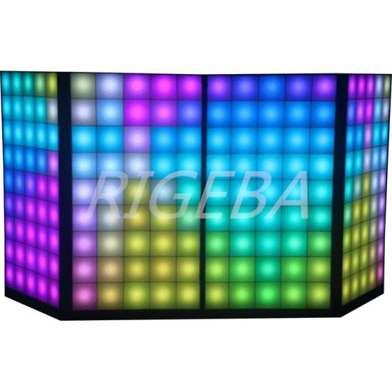 Manufactured Factory Directly Digital LED DJ Facade DJ Booth