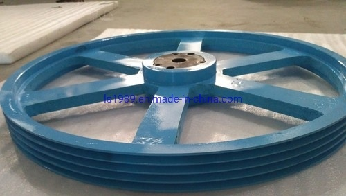 Cast Iron Industrial Pulley, for Machinery Purpose, Multi-Groove