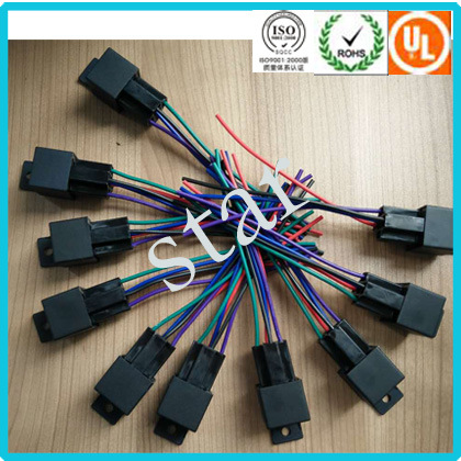 China 12V 40A 40 AMP 5 Pin 5 Wire Automotive Relay Socket Light Wire on 2 pole relay wiring, hella relay wiring, 40 amp fuse box, high power relay wiring, 240v relay wiring, plug in relay wiring, 4 pole relay wiring, 3 pole relay wiring, spdt relay wiring,