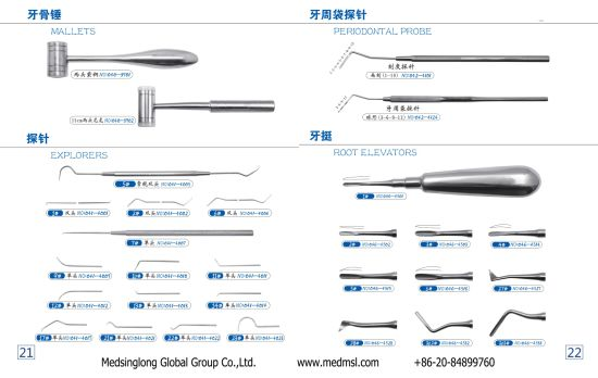 Surgical Equipment Dental Tools Tooth Forceps for Adult and Children