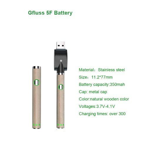Preheating Variable Voltage Charger Kit 350mAh Battery pictures & photos