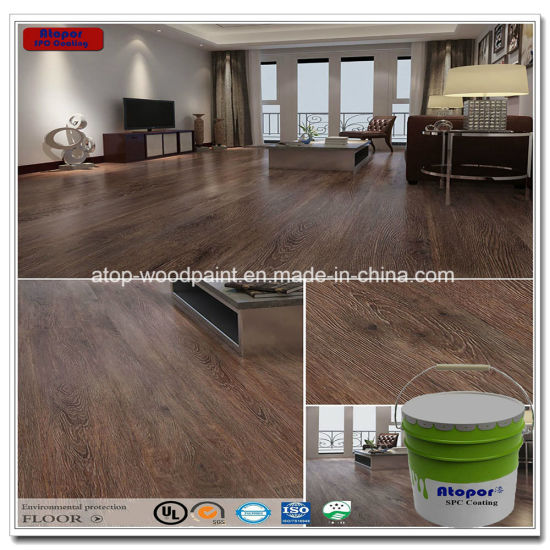 Anti Scratching Waterproof Spc Flooring Coating