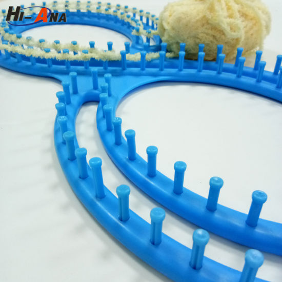 China High Quality Diy Plastic Weaving Loom 8 Shape Serenity Loom