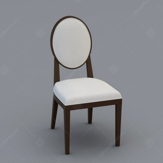 Restaurant Furniture Dining Chair with Solid Wood Legs Leisure Chair