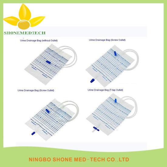 Disposable Urine Bag 2000ml with Different Valve