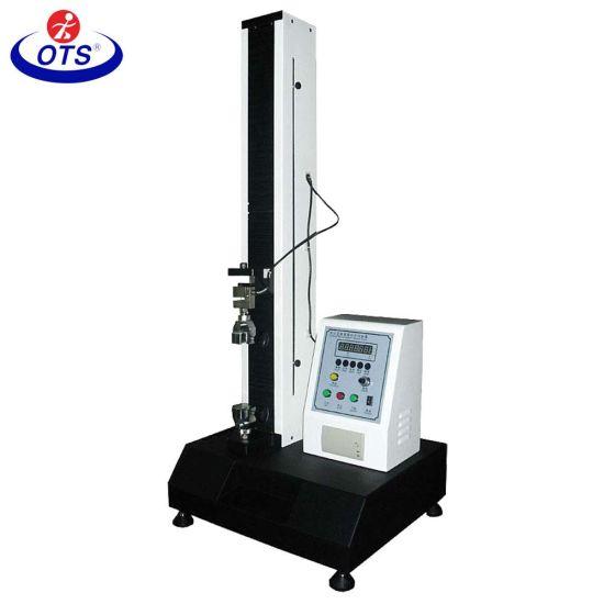 Single Column Economic Material Universal Tensile Strength Testing Machine