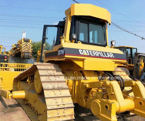 Used Cat D7h Bulldozer /Caterpillar D6g D6h D6r D7g D7 Bulldozer with Ripper