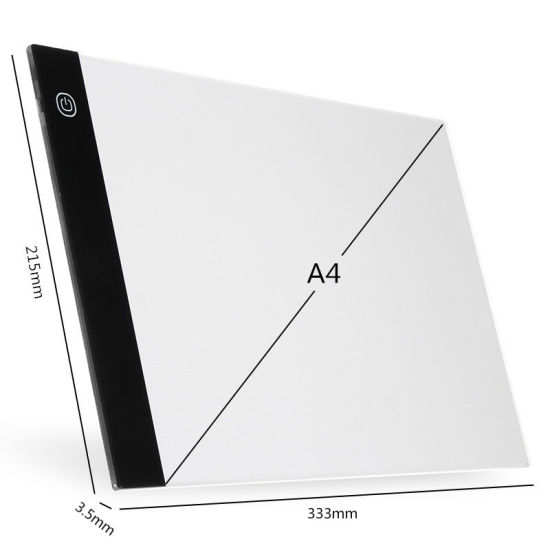 Drawing Board Digital Graphic Tablet A4 LED Electronic Tablet Pad Drawing Light