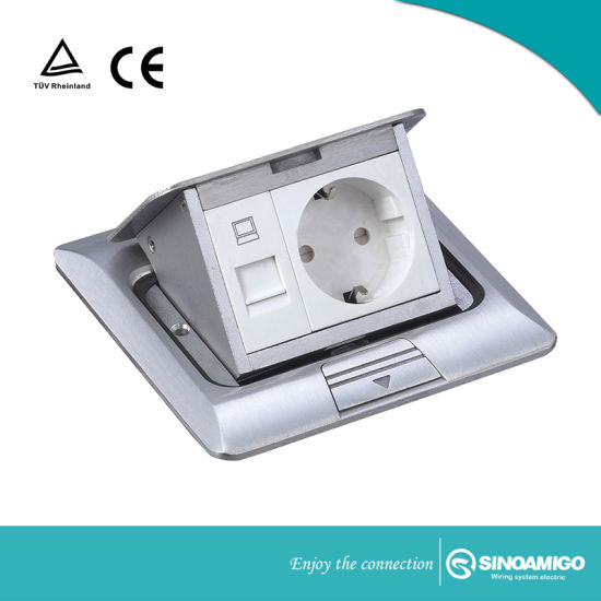 Pleasant China Aluminum Floor Box Pop Up Assembly Kit By Electrical Outlet Wiring Cloud Xeiraioscosaoduqqnet
