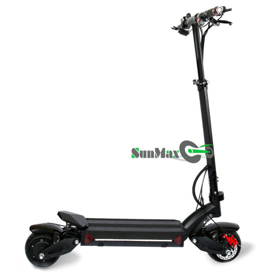 Double Motors Two Wheel Lithium Battery Electric Mini Foldable Scooter