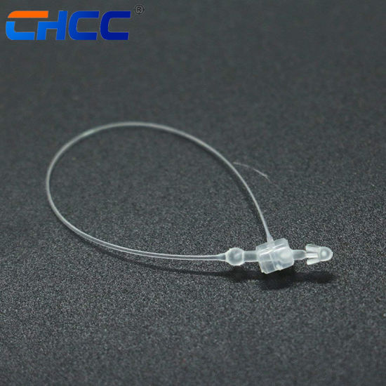 21eb422175fd China Beaded Knot Cable Tie / Ball Type Nylon Cable Ties White ...
