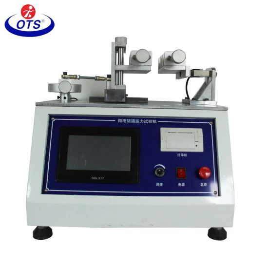 Insertion and Extraction Force Material Testing Machine for Socket Plug