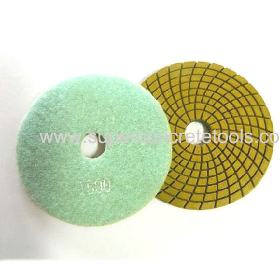 Turbo Quality Diamond Polishing Pads pictures & photos