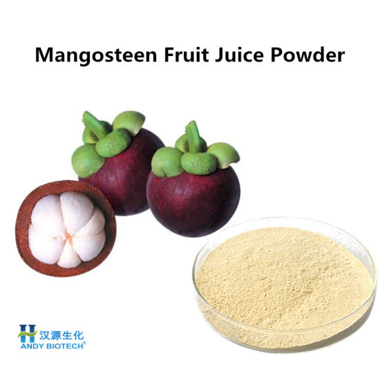 Food Additive Mangosteen Fruit Juice Powder Plant Extract
