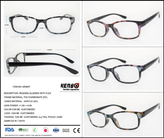 2019 New Fashion Reading Glasses with Magnifying Lens Low Price, Kr9057 pictures & photos