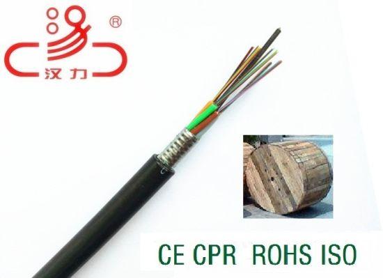 Fiber Optic Cable GYTA GYTS Outdoor 12, 24, 36, 48 Core