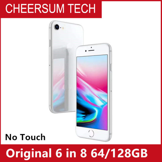 """Original Refurbished 6 in 8 Mobile Phone 4.7"""" 1GB RAM 64/128GB ROM Ios 8 No Touch ID"""