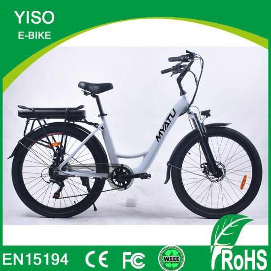 City Electric Bike with Pedal Hot Sale Electric Bicycle