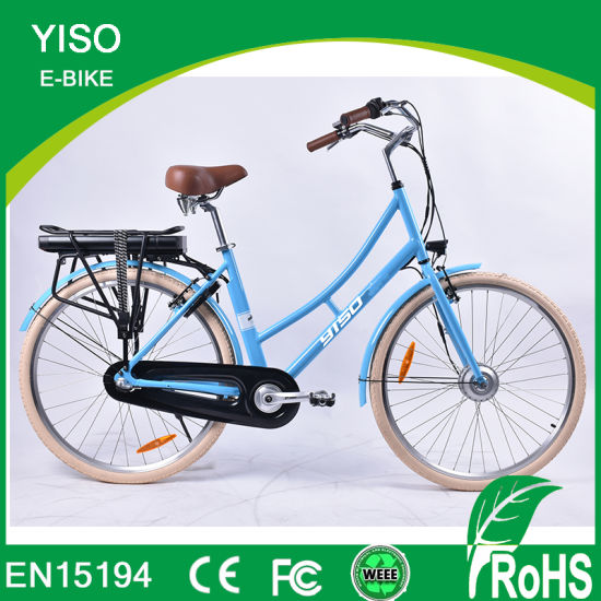 Chinese Wholesale 700c 7 Speed 36V 250W Aluminum Alloy Electric Bicycle