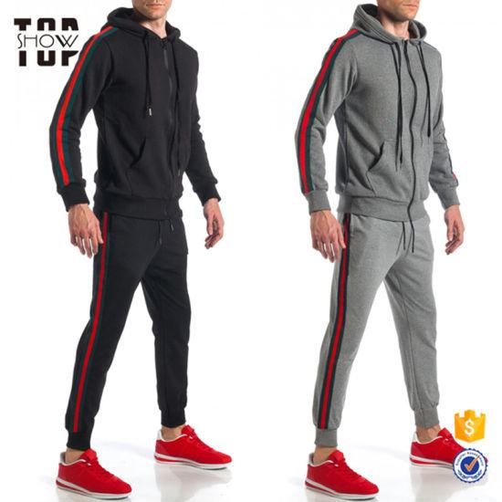 Custom Design Your Own Tracksuit Mens Tracksuit Slim Fit Track Suit for Men
