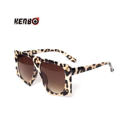 Kenbo 2019 Fashion Oversized Designer Leopard Women Sunglasses Cheap Wholesale Ladies Sun Glasses