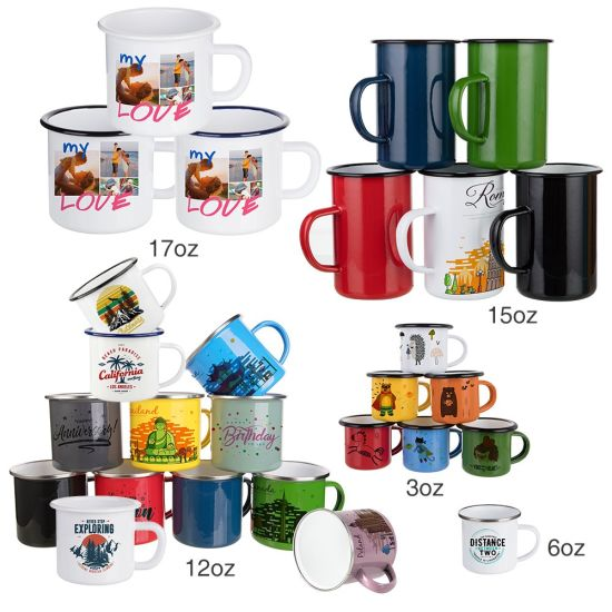 Bestsub Laser / Sublimation Enamel Mug Collection pictures & photos
