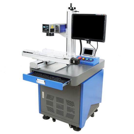 Factory Price 20W Fiber Laser Engraving Machine Laser Printer/Machine for Button Battery