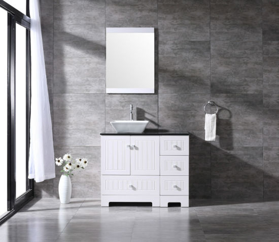Pvc Cover Cabinet Ceramic Vessel Sink